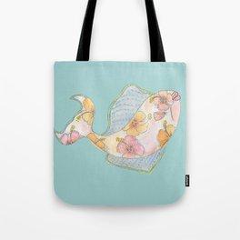 tropical watercolor fish Tote Bag