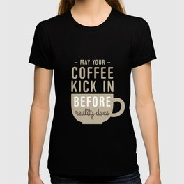 Coffee Reality T-shirt