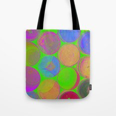 The Lie is a Round Truth. Green. Tote Bag