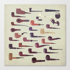 A pipe for every man Canvas Print