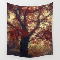 copper Wall Tapestries featuring Copper Beech by Dirk Wuestenhagen Imagery