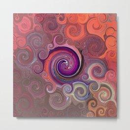 Abstract Mandala 270 Metal Print