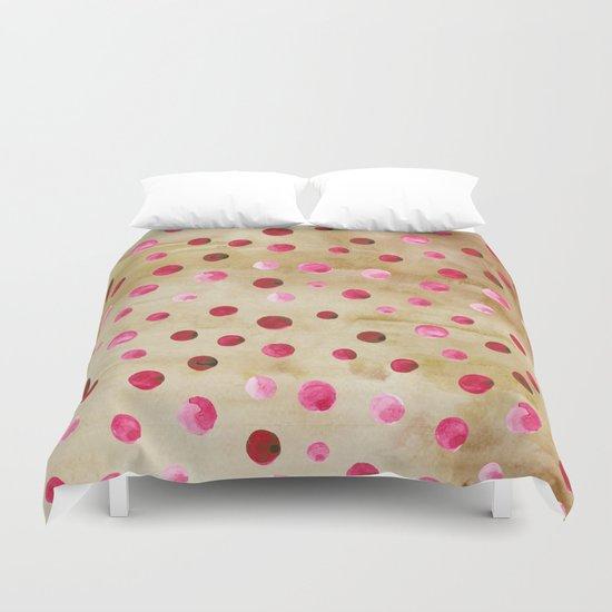 Polka Dot Pattern 04 Duvet Cover
