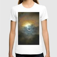 discount T-shirts featuring Solar Eclipse 2 by Aaron Carberry