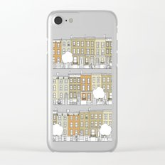 Brooklyn (color) Clear iPhone Case