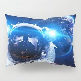 Astronaut in orbit #3 Pillow Sham