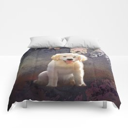 Golden Retriever Puppy Comforters