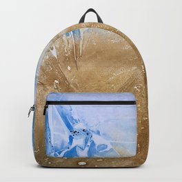Take me to the beach, Leave me there alone Backpack
