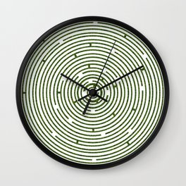The maze to your heart Wall Clock