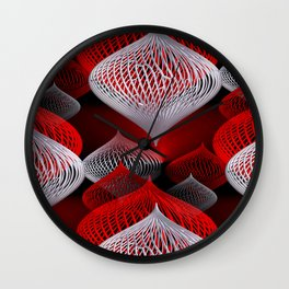 onion pattern -1- Wall Clock