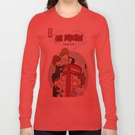 Take Me Home Cartoon One Direction Long Sleeve T-shirt