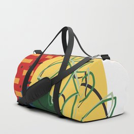 leaves and confetti Duffle Bag