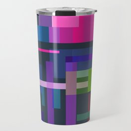 Imitation Mid-20th Century Abstraction, No. 3 Travel Mug