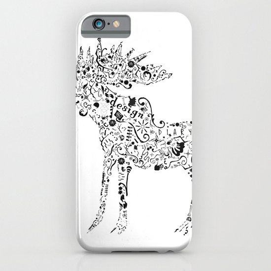 Many shapes of the Moose iPhone & iPod Case