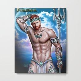 Poseidon (Seth Fornea) Metal Print