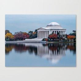 Jefferson In Baby Blue Canvas Print