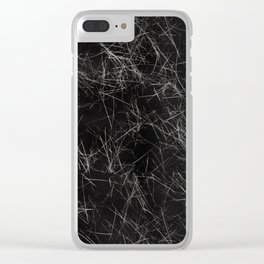 Fur Everywhere Clear iPhone Case
