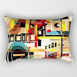 The Hannya Rectangular Pillow