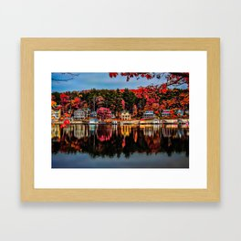 Alton Bay Framed Art Print