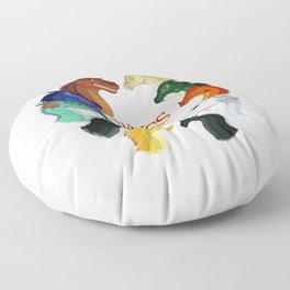 Wings of Fire Floor Pillow