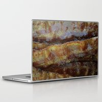 bacon Laptop & iPad Skins featuring Bacon by John Grey