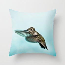 hummingbird no.1 Throw Pillow
