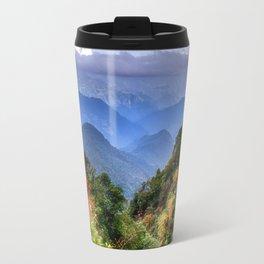The Himalayas of Bhutan Travel Mug