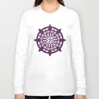 yoga Long Sleeve T-shirts featuring Yoga by Janava