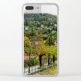 Varenna In The Rain Clear iPhone Case