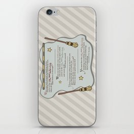 Age of Not Believing iPhone Skin