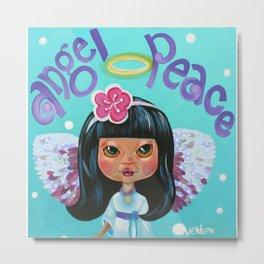 Angel Peace Metal Print