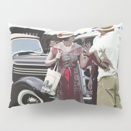 At The Races, 1937 Style Pillow Sham