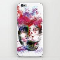 no face iPhone & iPod Skins featuring Face by Marian - Claudiu Bortan