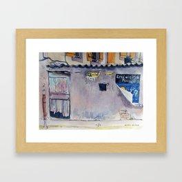 Vestiges Framed Art Print