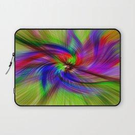 Coloured Whirligig Laptop Sleeve