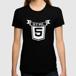 HTML 5 Vintage T-shirt