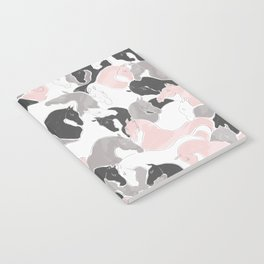 Playing Horses pattern Notebook