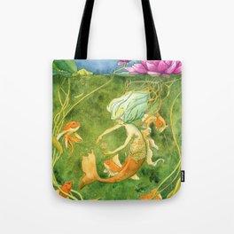 Treasures of the Lotus Nymph Tote Bag