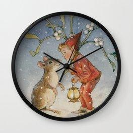 """The Bracken Fairy"" by Margaret Tarrant Wall Clock"