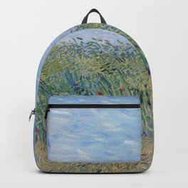 Vincent Van Gogh - Wheat Field with a Lark Backpack