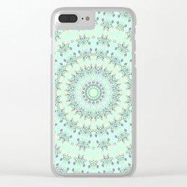 Geometric pattern 4 Clear iPhone Case