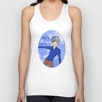 jack frost Tank Tops featuring Jack Frost by AlysIndigo