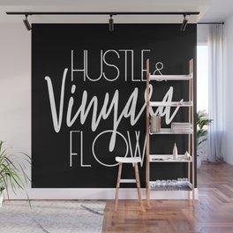 Hustle & Vinyasa Flow Wall Mural