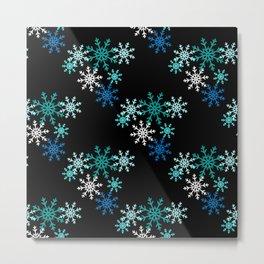 Ice and Snow Metal Print