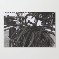 the thing Canvas Prints featuring thing by Dragonheart
