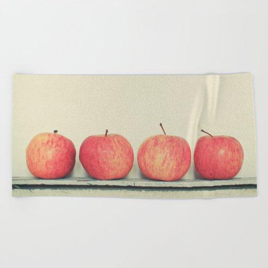 Apples Beach Towel