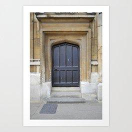 Oxford door 10 Art Print