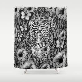 Idiopathic Idiot Shower Curtain