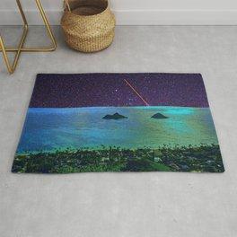 Stars in Kailua, Oahu Rug