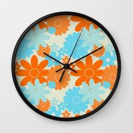 Summer Garden Goldfish  Wall Clock